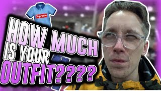 How Much is Your Outfit? - HYPEBEAST OUTFITS!!!