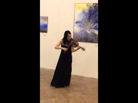 Rika Masato. Violinista