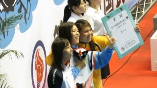 内田美希選手ラストレース(選手紹介~表彰式)