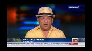 Comedian Paul Rodriguez Shocks CNN