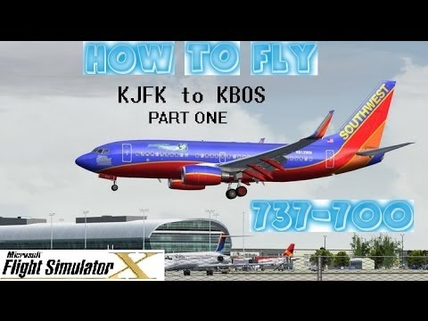 Flight Simulator X (FSX) Tutorial - How to Fly - Boeing 737-