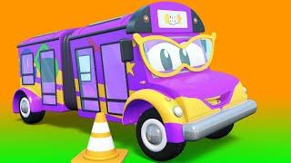Малыши Машинки -  ДЕТИ учатся вождению - Обучающие мультфильмы Автомобильного Города