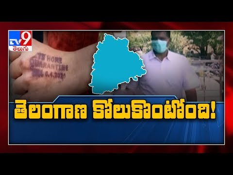 Telangana Gradually Recovering From Coronavirus Outbreak - TV9