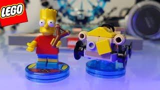MONTANDO LEGO OS SIMPSONS - BART SIMPSON