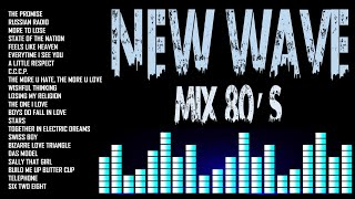 Non Stop New Wave Mix    Pop Hits 80's    New wave 80's   