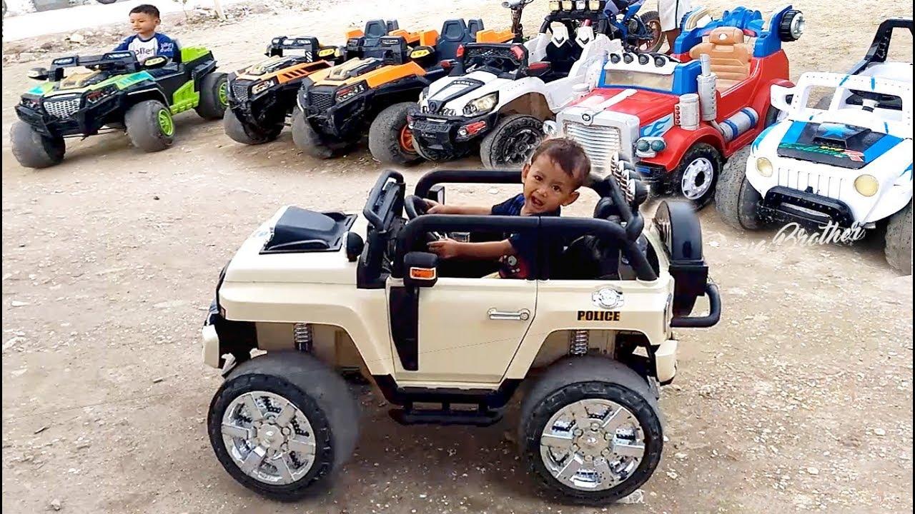 Naik Mainan Mobil Mobilan Jeep Mainan Anak Laki Laki Odong Odong Youtube