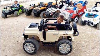 Naik Mainan Mobil Mobilan JEEP | Mainan Anak Laki Laki | Odong Odong