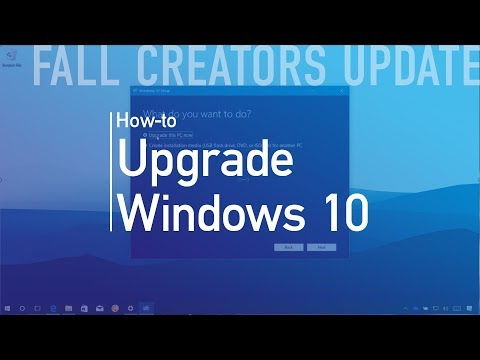Windows 10 Fall Creators Update: Upgrade process
