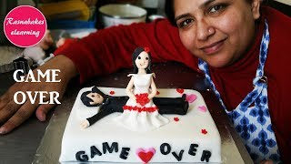 Wedding Cake:funny wedding cake toppers