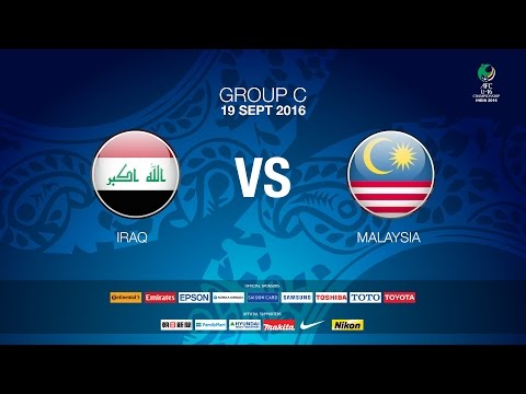#AFCU16 M13 Iraq vs Malaysia (Group C) News Report