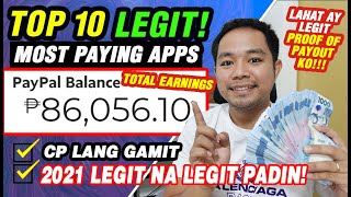 TOP 10 LEGIT & MΟST PAYING APPS: ₱186,056 MY TOTAL EARNINGS! OWN PROOF GCASH & PAYPAL MONEY!