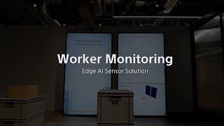 Worker Monitoring by Intelligent Vision Sensor IMX500【ソニー公式】