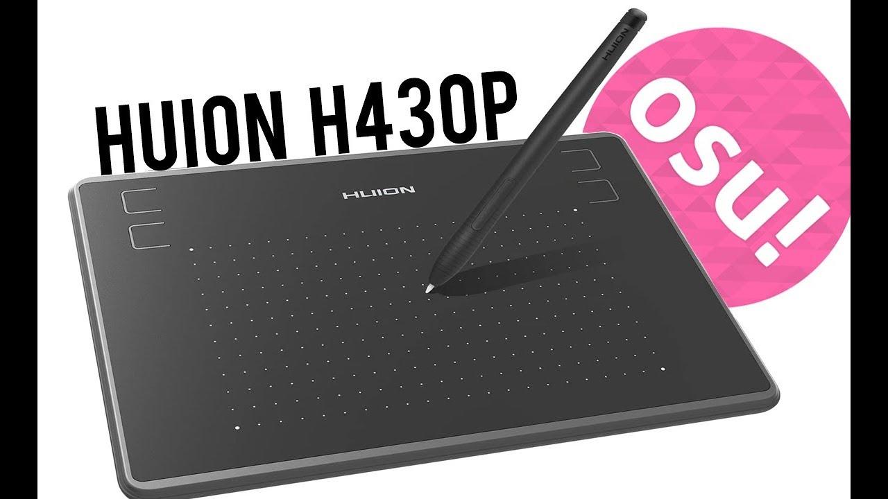 UNBOXING TABLETU GRAFICZNEGO HUION H430P, TANI I IDEALNY DO OSU!