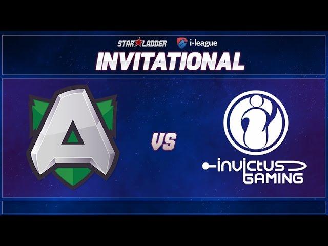 Alliance vs iG Game 1 - SL i-League Invitational: Group A Decider - @Luminous @Merlini