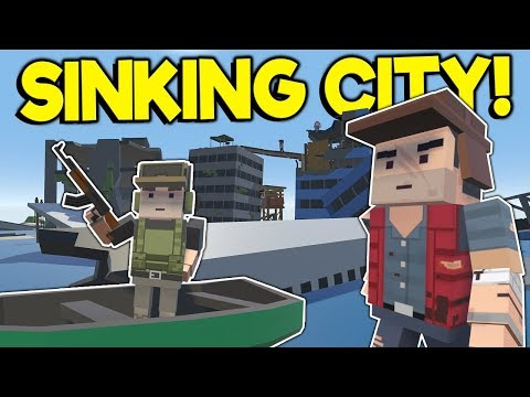 Sinking City Apocalypse & Survival Base! – Tiny Town VR Gameplay – HTC Vive VR Game