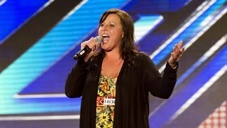 Tammy Cartwright's audition - Jennifer Hudson's One Night Only - The X Factor UK 2012