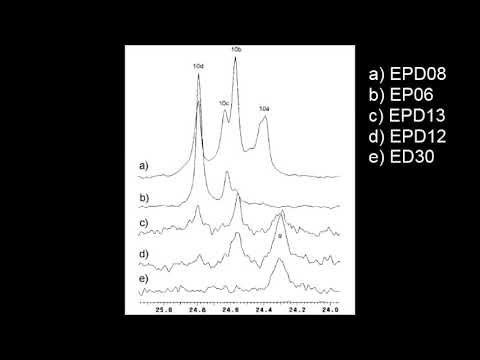 "Vídeo sobre o artigo ""Carbon Nuclear Magnetic Resonance of Ethylene–Propylene–1-Decene Terpolymers"""
