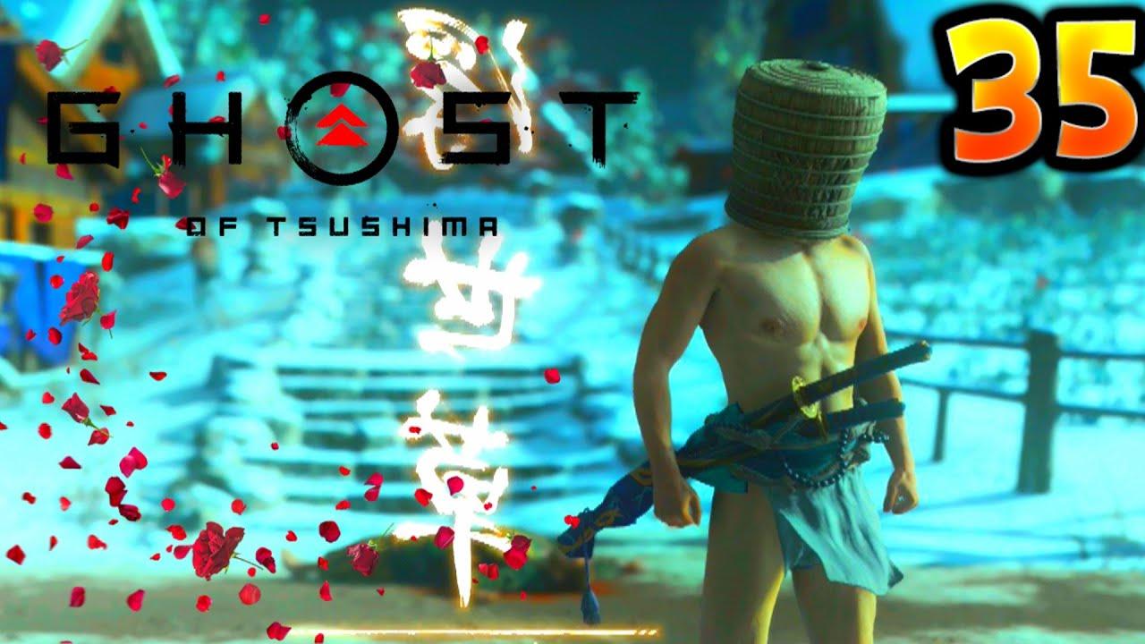 LES MYSTÈRES DU PAGNE !!! -Ghost of Tsushima- avec Bob Lennon