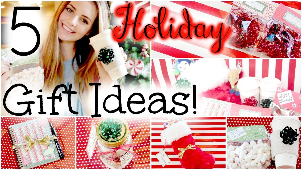 5 Easy U0026 Affordable DIY Holiday Gift Ideas! | HauteBrilliance   YouTube