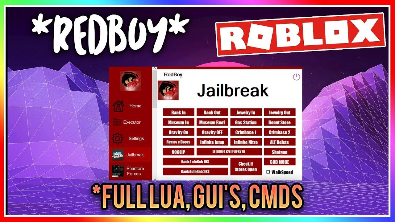 Free Redboy 2 7 Roblox Hack Exploit Gui S Full Lua More