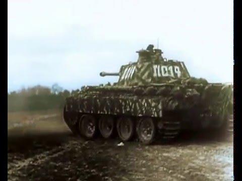 Panther tanks firing