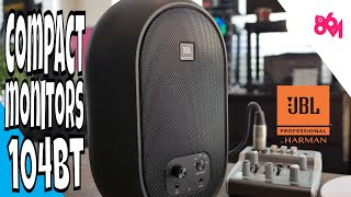 Trying out JBL 104BT Reference Monitors!