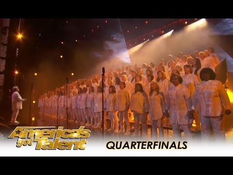 Angel City Chorale: ANGELIC Choir Want To Heal The World With Music | America's Got Talent 2018