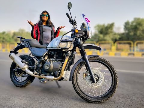 My New Bike Royal Enfield Himalayan Sleet Delivery - Bike My Soul