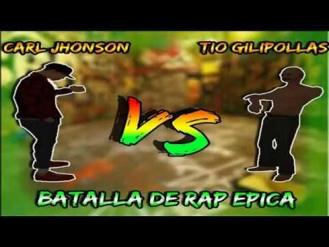 Loquendo GTA San Andreas | CJ vs El Tio Gilipollas | Batalla de Rap Epica | 2016