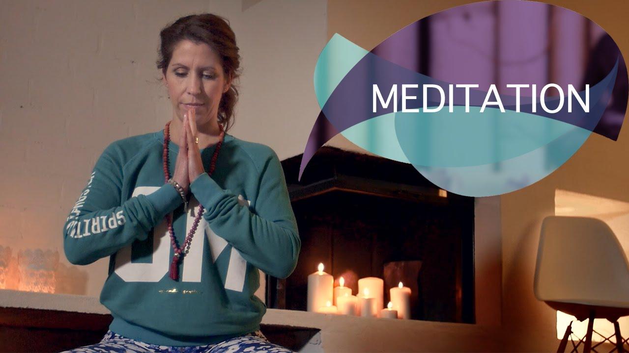 Yoga zum Entspannen: Meditation für mehr Ruhe und Gelassenheit // FlexibleFit Yoga