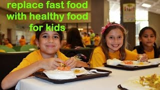 fast food vs healthy food for kids