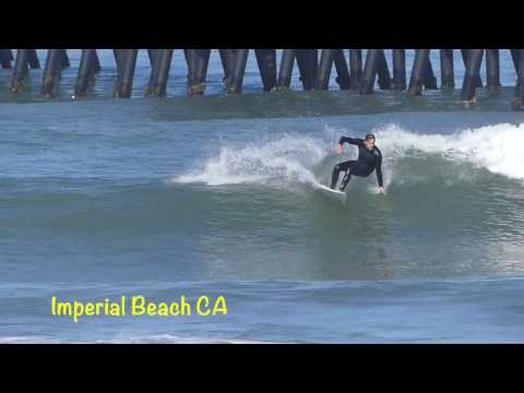 Imperial Beach CA  Happy Friday Spring Break Surfing