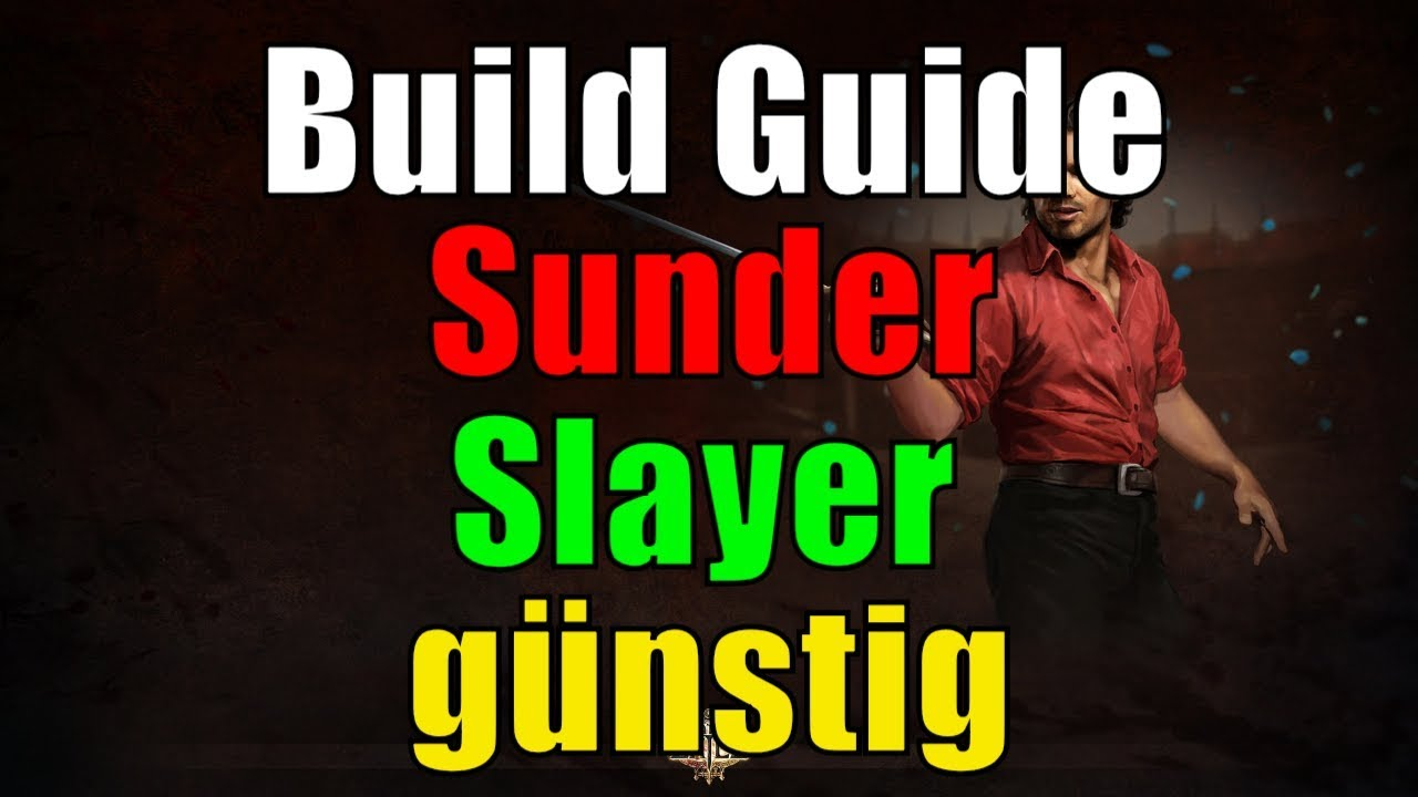 Build Sunder Poe