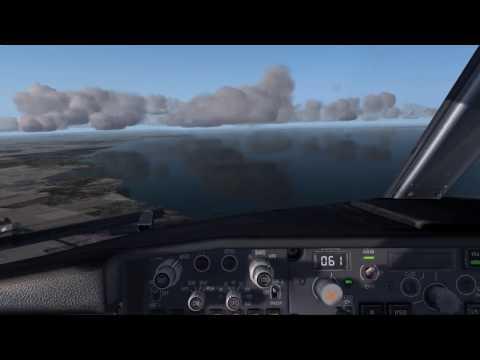 Landing in Kaliningrad with Utair Boeing 737