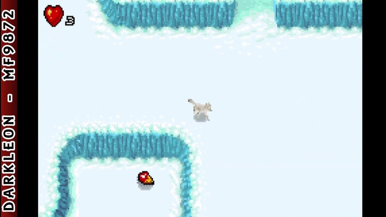 Download Game Boy Advance - Arctic Tale © 2007 DSI Games - Gameplay