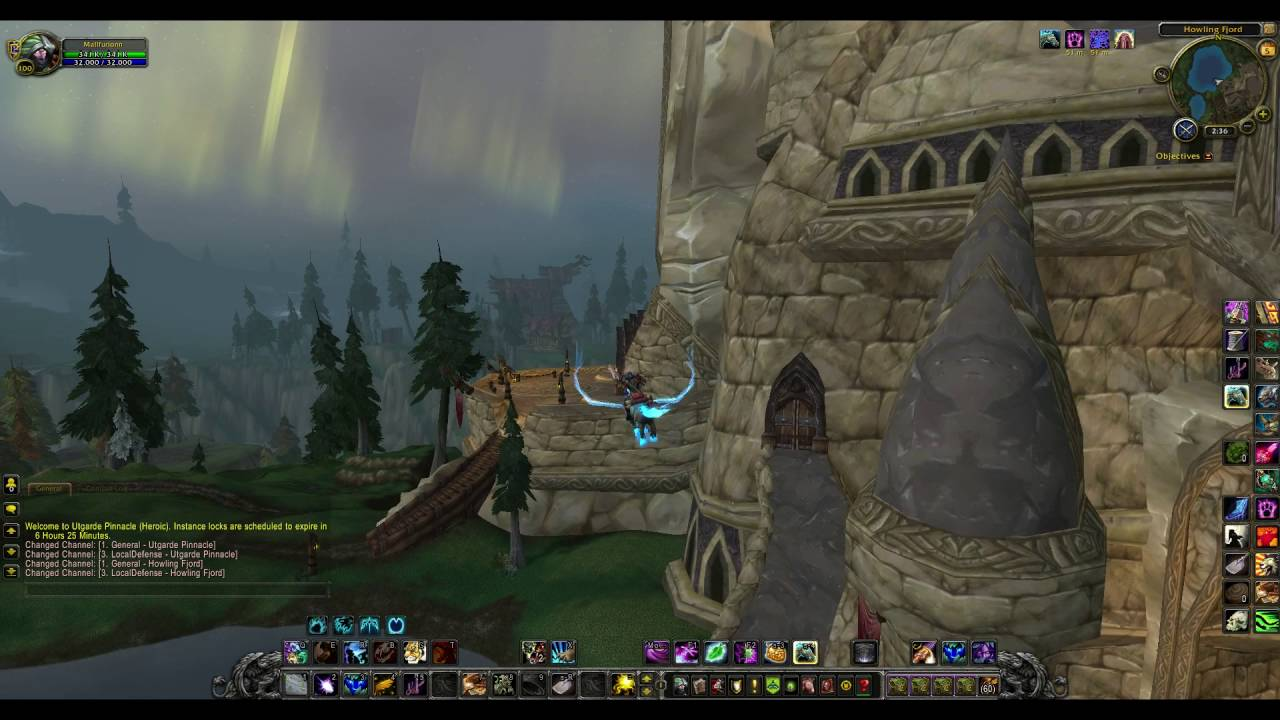 utgarde pinnacle entrance location world of warcraft wrath of the lich king dungeon youtube. Black Bedroom Furniture Sets. Home Design Ideas