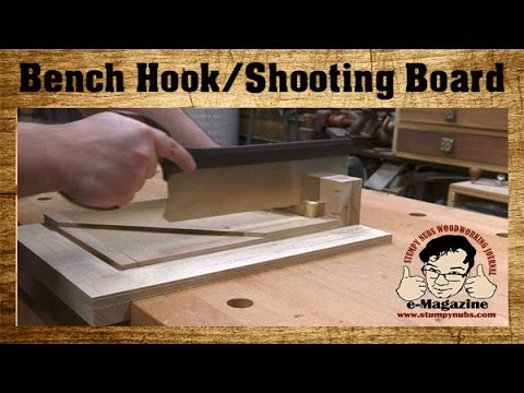 Get Amazingly Precise Cuts From This New Woodworking Bench Hook
