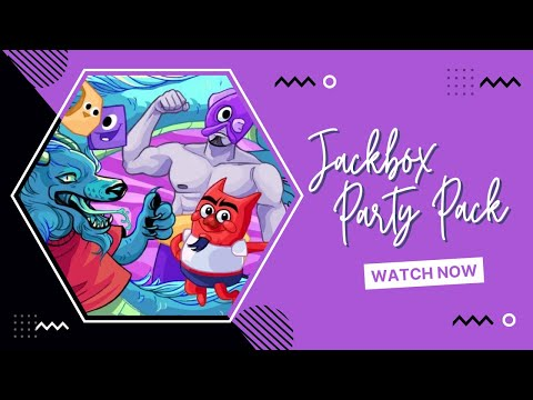 🐻 THE JACKBOX PARTY PACK 4 | Interactive Stream | 1080p | PC 🐻