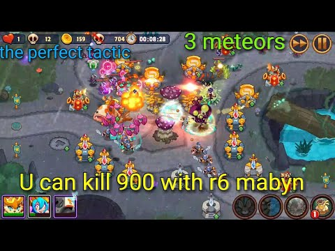 Realm Defense Tournament 704 Kill With 3 Meteors & Mabyn Rank 2