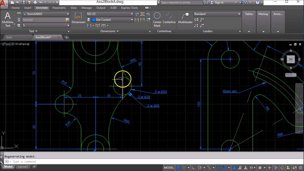 How to change the line type scale in AutoCAD