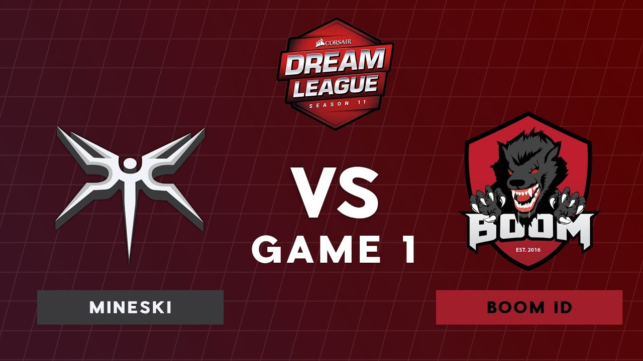 Mineski VS BOOM ID | Bo3 Upper Bracket Round 1 DreamLeague Season 11 SEA  Qualifiers | Game 1