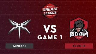 Mineski VS BOOM ID | Bo3 Upper Bracket Round 1 DreamLeague Season 11 SEA Qualifiers | Game 1