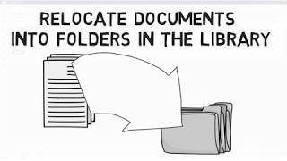 Relocate Documents into Folders in the Library