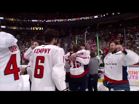 Capitals clinch the Stanley Cup!
