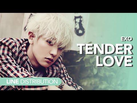 [Line Distribution] EXO - Tender Love
