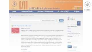 Encyclopedia of Hinduism Online