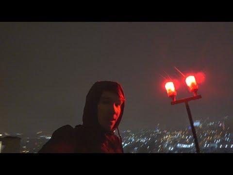 Пробрался на крышу