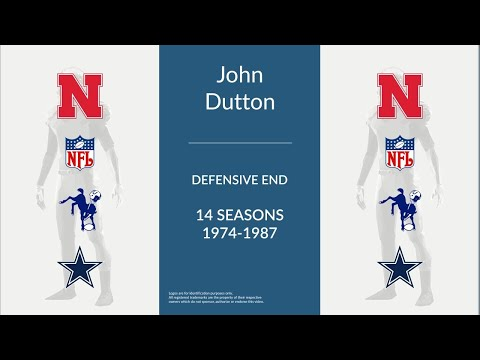 John Dutton : Football Defensive End and Defensive Tackle