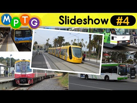 Melbourne's trains, trams and buses (Photo slideshow #4)