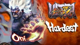 Ultra Street Fighter IV - Oni Arcade Mode (HARDEST)